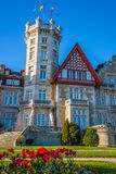 Nice Magdalena Palace in Santander, Spain Royalty Free Stock Images