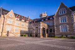 Nice Magdalena Palace in Santander, Spain Stock Photography