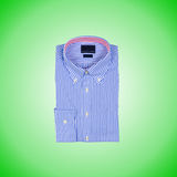 Nice male shirt against the gradient Stock Image