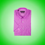 Nice male shirt against the gradient Royalty Free Stock Photography