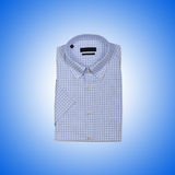 Nice male shirt against the gradient Royalty Free Stock Images