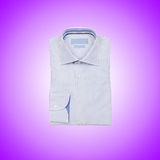 Nice male shirt against the gradient Stock Photos