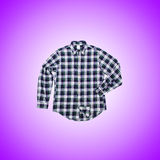 Nice male shirt against the gradient Royalty Free Stock Image