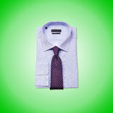 Nice male shirt against the gradient Stock Photo