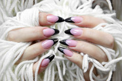 nice manicure Royalty Free Stock Images