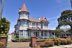 Nice mansion on Coronado Island royalty free stock image