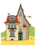 Nice mansion. Vector illustration of a house, file EPS 8 Stock Illustration