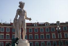 Nice France Marble Statue Royalty Free Stock Image