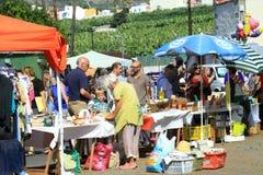 Nice market on Canary island La Palma Royalty Free Stock Photo