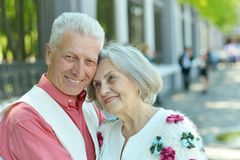 Nice mature couple Royalty Free Stock Image
