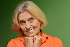 Nice mature woman Royalty Free Stock Image