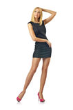Nice model in studio Stock Images