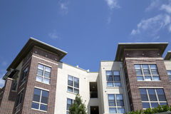 Nice modern apartment buildings. Nice  apartment buildings in the city Stock Photography