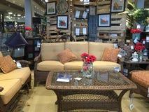 Nice modern furniture market interior. Nice furniture market in TX, USA interior stock image