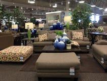 Nice modern furniture market Royalty Free Stock Photo
