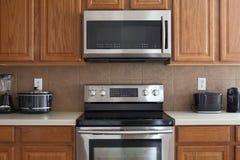 Nice modern kitchen Stock Photos