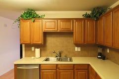 Nice modern kitchen background Royalty Free Stock Photo