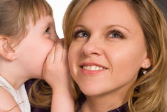 Nice mom and daughter Stock Photography