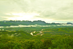 Nice mountain at Luang Prabang, Laos Stock Images