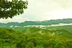 Nice mountain at Luang Prabang, Laos Royalty Free Stock Image