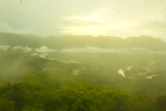 Nice mountain at Luang Prabang, Laos Stock Image