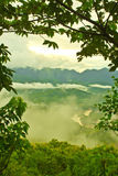 Nice mountain at Luang Prabang, Laos Royalty Free Stock Image
