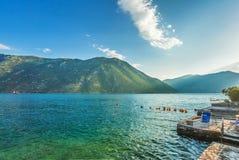 Nice mountain and sea view Stock Image