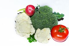 Nice multicolor vegetables close up royalty free stock photos