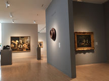 Nice Museum of Arts interior. Nice Museum of Arts in downtown Dallas, TX USA stock photos
