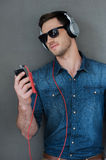 Nice music for good mood. Stock Images