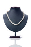 Nice necklace isolated on the white Royalty Free Stock Photos