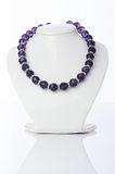 Nice necklace  on the white Royalty Free Stock Photo