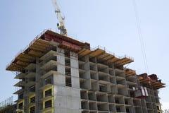 Nice new condo under construction Royalty Free Stock Photography