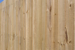 Nice new wooden fence background Royalty Free Stock Image