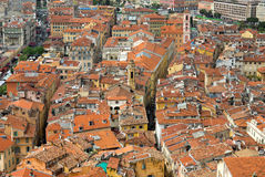 Nice - Nice view of the city from above Royalty Free Stock Photography