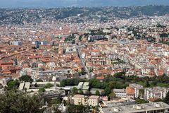 Nice - Nice view of the city from above Stock Image