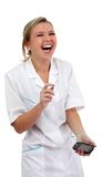 Nice nurse Royalty Free Stock Photography