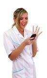 Nice nurse Stock Image