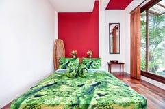 Nice och kallt sovrum Arkivfoto