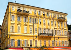 Nice - Old building at the Cours Saleya street Royalty Free Stock Image