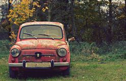 Nice old car in with retro effect Stock Images