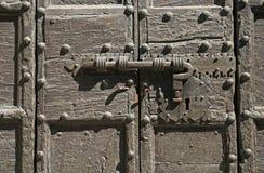 Nice old door stock photo