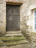 Nice old door wood. Nice wood door in Britain France Stock Images