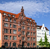 Nice old house in Berlin 3 Royalty Free Stock Photos