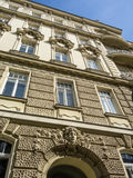 Nice old house in vienna Stock Photo