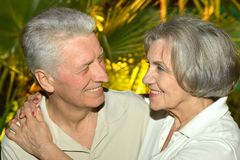 Nice old people Royalty Free Stock Images