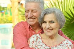 Nice old people Stock Photo
