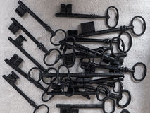 Nice - Old rusty keys Royalty Free Stock Images