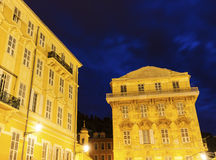 Nice Old Town architecture Royalty Free Stock Photo