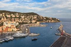 Nice old town France Stock Images